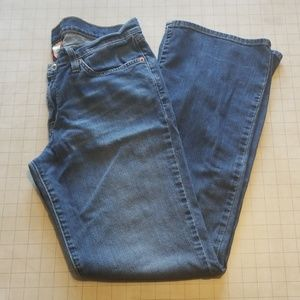 Lucky Brand Mid Rise Flare Jeans Size 12